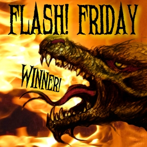 Flash! Friday winner's badge
